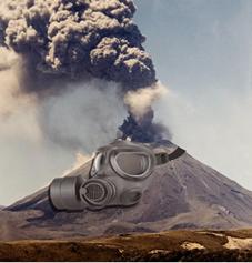 As cinzas vulcânicas são compostas de gases tóxicos e de partículas que podem estragar a estrutura do avião, entupir a turbina e causar pane no motor