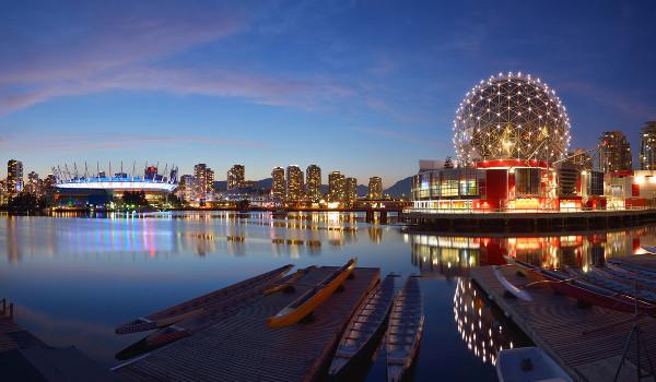 Campi da Douglas College ficam na área metropolitana de Vancouver