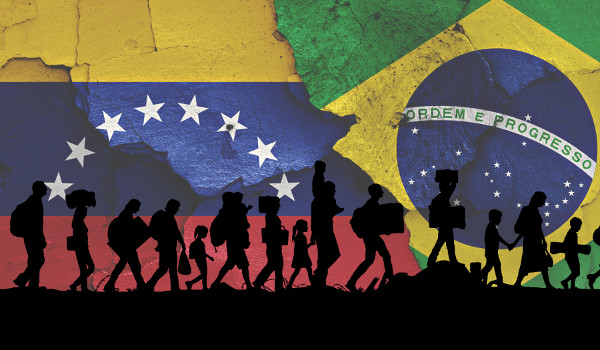 Crise na Venezuela faz população cruzar a fronteira para o Brasil
