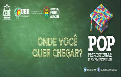 Cursinho de Porto Alegre prepara para vestibular e Enem