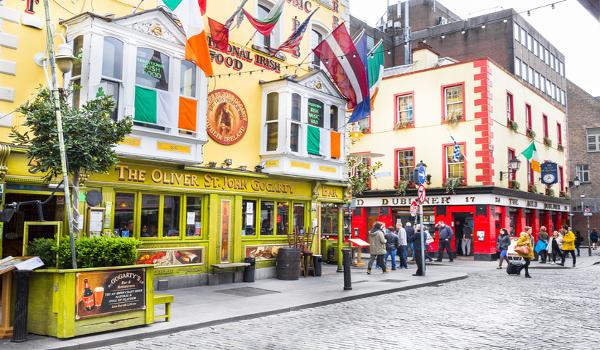 Dublin é muito procurada por estudantes de Inglês