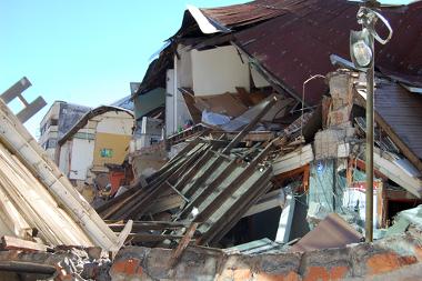 Efeitos de um terremoto que já havia ocorrido no Chile em 2010