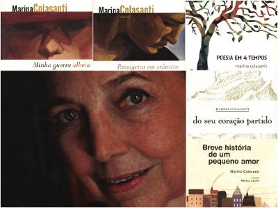 Marina Colasanti nasceu na Eritreia no dia 26 de setembro de 1937. Mora no Brasil desde 1948, ano em que sua família radicou-se no Rio de Janeiro *