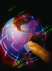 A internet permite a conexão com o mundo todo , até pra estudar