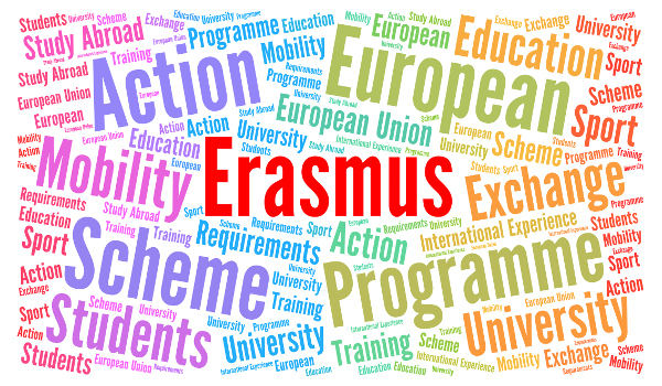 Erasmus + vai além da bolsa voltada para a educação, contemplando o treinamento profissional e apoiando os esportes e cultura.