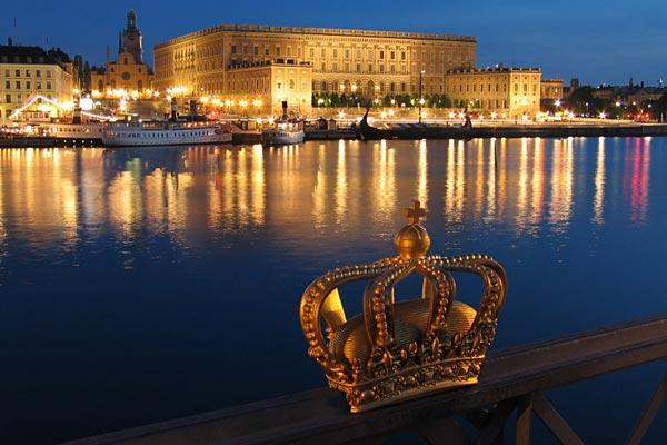 Estocolmo, a capital e a maior cidade sueca.