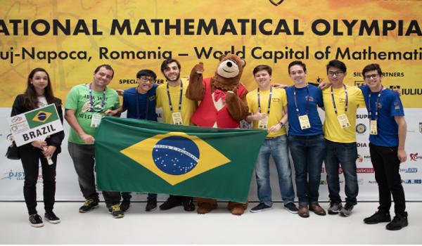 Estudantes brasileiros conquistaram uma medalha de ouro, quatro de bronze e menção honrosa