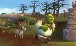 O filme Shrek foi criado com técnicas de produção gráfica