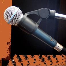 O microfone é o principal instrumento do radialista
