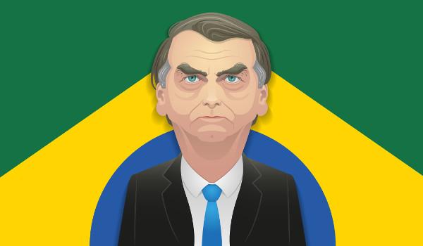 Jair Bolsonaro (PSL) foi eleito presidente do Brasil com 55% dos votos
