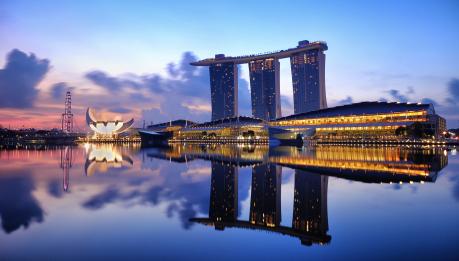 Marina Bay, em Singapura