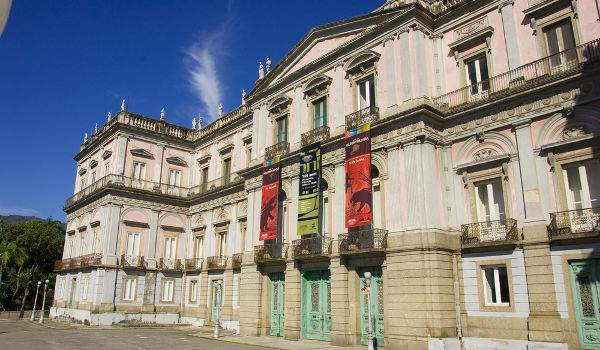 Museu Nacional no Rio de Janeiro, antes do incêndio