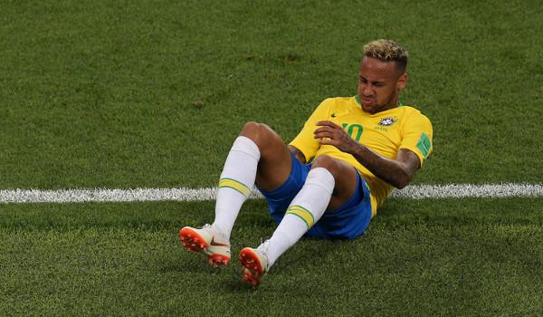 Neymar sofreu com as faltas na Copa do Mundo. Foto: A.RICARDO / Shutterstock