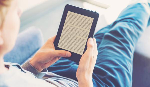 Os livros online é uma opção para as pessoas que preferem as novas tecnologias.