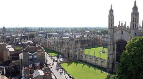 Universidade de Cambridge não conseguiu um lugar nas três primeiras posições do ranking