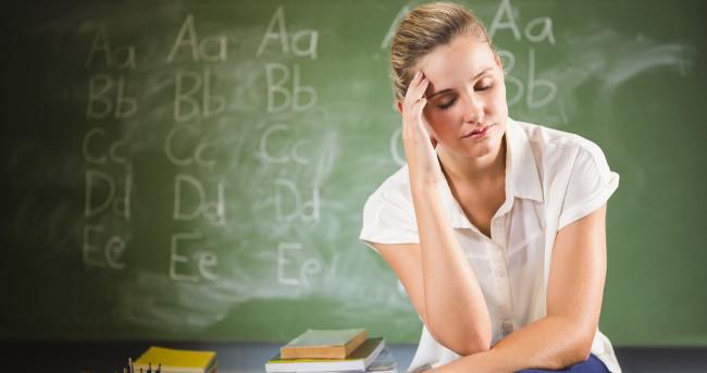 Professores sofrem com o descaso na educação