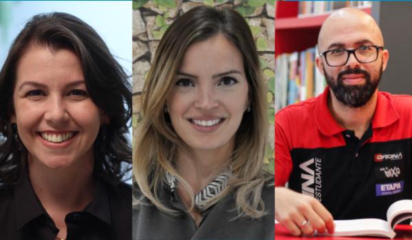 Psicóloga Graciana Assunção, nutricionista Luna Azevedo e diretor Antunes Rafael falam sobre a preparação para o Enem