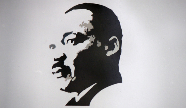 Retrato de Martin Luther King Jr.