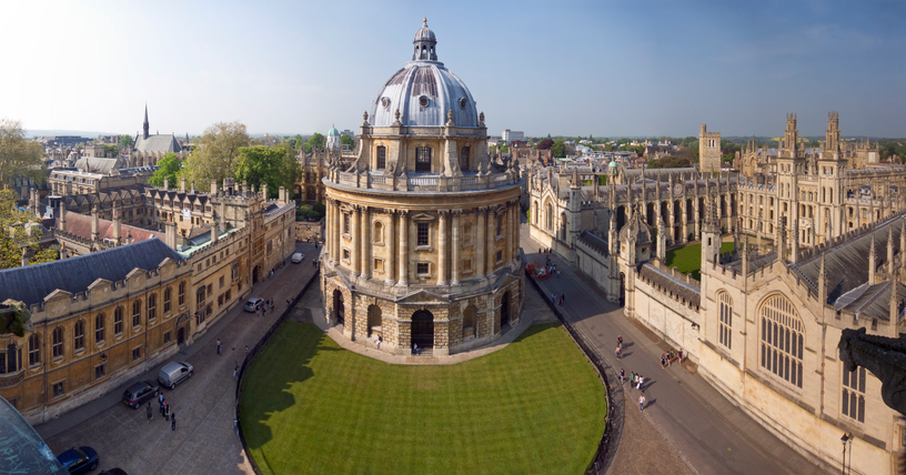 Universidade de Oxford, no Reino Unido