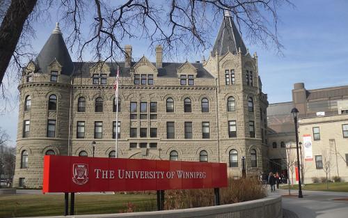 Universidade de Winnipeg, no Canadá