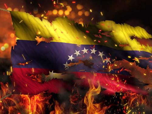 Venezuela vive uma grave crise política e econômica