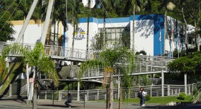 Vista frontal do Campus I