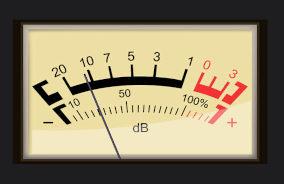 Medidor de intensidade sonora