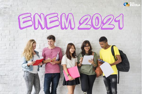 Enem 2021 apresentou queda de 35% em relação ao número de inscritos da edição de 2020