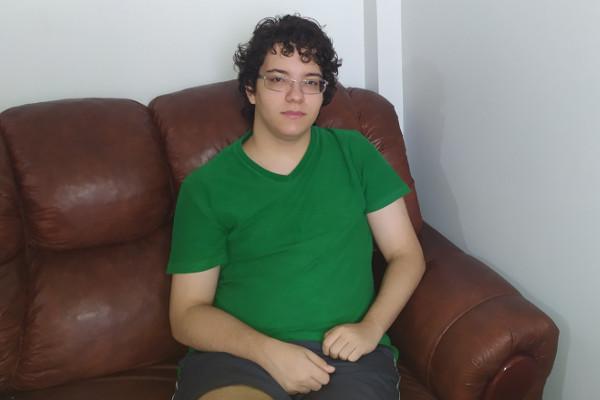 Lucas Rios quer trabalhar com T.I e vai tentar vaga na UFMG