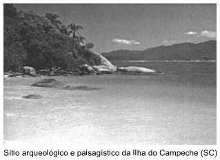 Sítio arqueológico e paisagístico da Ilha do Campeche (SC)