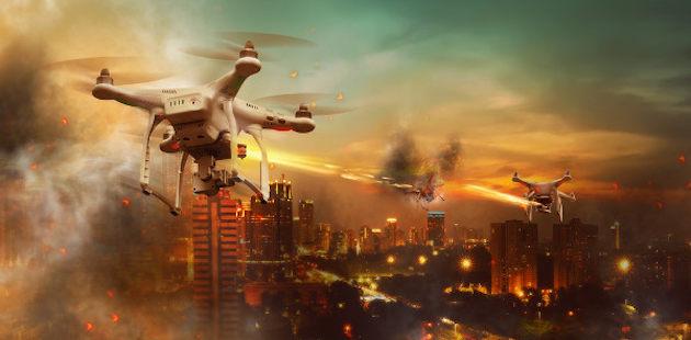 Drones e a guerra moderna