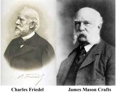 Charles Friedel e James M. Crafts