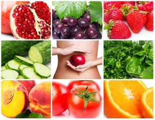 Exemplos de frutas, verduras e legumes