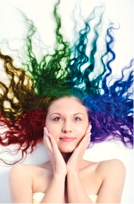Hoje há uma grande variedade de tinturas que podem colorir os cabelos