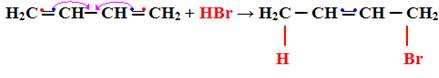 Reação de adição 1,4 em dieno conjugado