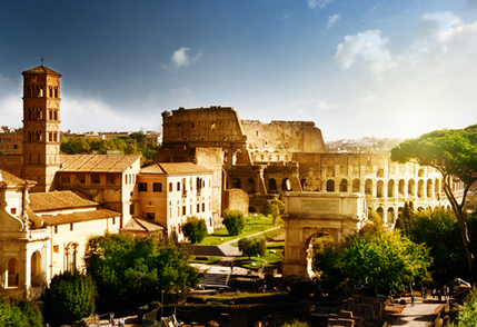 Centro do Império, Roma é um exemplo da centralidade dos espaços urbanos para a formação das civilizações