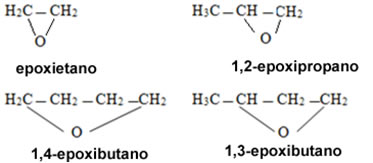 Nomenclatura de epóxidos