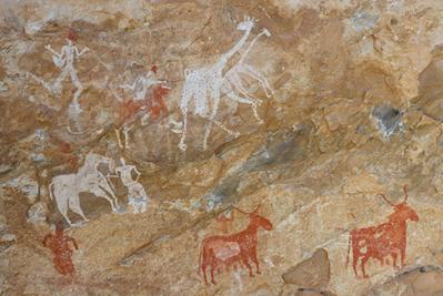 As pinturas rupestres, como expressão artística de povos do passado, podem ser úteis à análise de fontes históricas