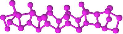 Macromoléculas do fósforo vermelho