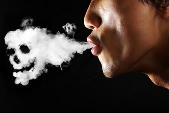 A fumaça do cigarro contém muitas substâncias tóxicas