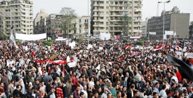 Protestos pediram o fim do governo de Hosni Mubarak no Egito ²