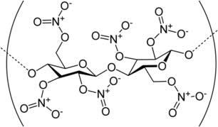 Resultado de imagem para nitrocelulose formula