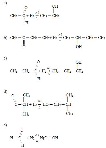 Reações de hidrogenação catalítica