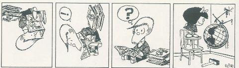 """Mafalda """"invertendo"""" a dinâmica mundial"""