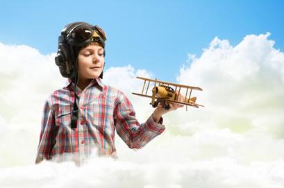 Os brinquedos criados para os meninos geralmente visam à aventura