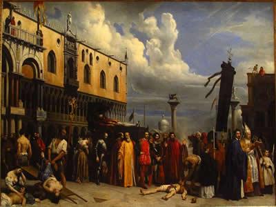 Honras fúnebres a Ticiano, de Alexandre Heese (1806-1879) *
