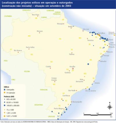 Projetos eólicos não construídos no Brasil (2003)