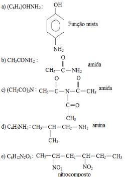 Exercício de nitrocompostos