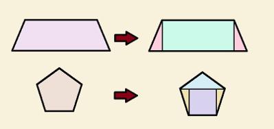 Todos os polígonos podem ser decompostos em figuras equidecomponíveis