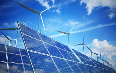 A energia eólica e solar são exemplos de formas de energia limpa